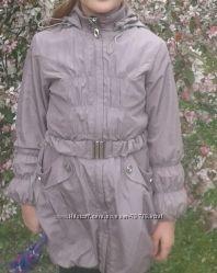 Плащ-пальтишко деми-сезонное RM, р. 128см