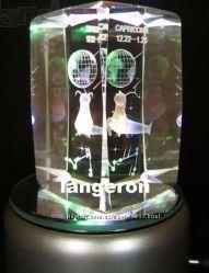 Светильник ночник куб с гравировкой вращающийся Знаки Зодиака