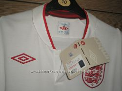 Футболка Евро 2012сборной Англии Лка