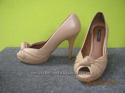 туфли с открытым пальчиком Zara