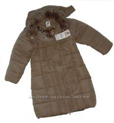 Размеры 4 до 6лет Стеганное пальто еврозима PALOMINO C&A, Германия