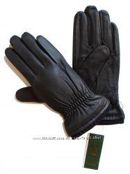 Размеры 8, 5 до 10, 5 Мужские перчатки из оленьей кожи на шерстяной вязк