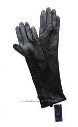 Размеры 6, 5 до 8  Длинные перчатки из кожи козленка на утеплителе