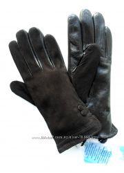 Размеры 6, 5 до 8, 5 Перчатки из замши и кожи ягненка на утеплителе