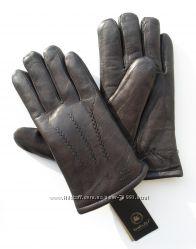 Размеры 10 до12 Мужские перчатки из оленьей кожи на натуральном меху овчины