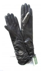 Размеры 6, 5 до 8, 5  Длинные перчатки из кожи козленка на утеплителе