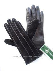 Размеры 6, 5 до 8, 5 Перчатки из нежнейшей кожи и замши на шерстяной вязке,