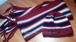 шапка и шарф фирмы AKAZ