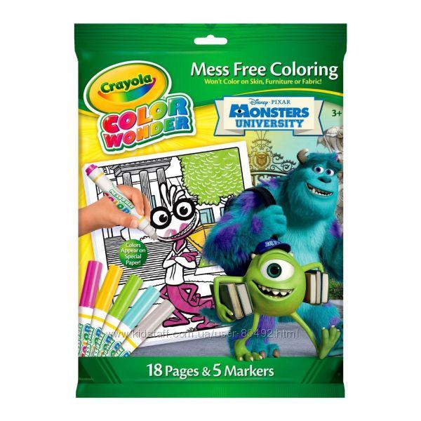 Волшебные наборы для творчества Crayola Color Wonder
