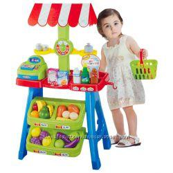 Детский игровой супермаркет с продуктами. Акция