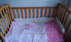 кровать для новорожденных матрац