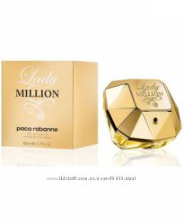Eau de parfum Lady Million 80 ml  Тестер