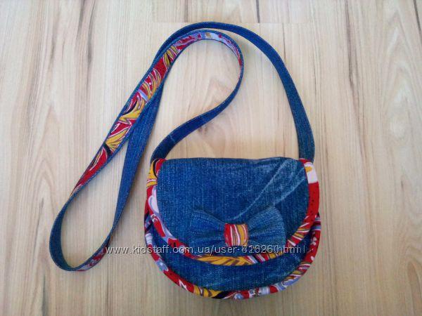 Джинсовые сумочки кросс боди для девчонок. Ручная работа 2251478afdd77