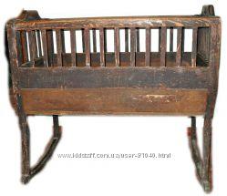 Детская кроватка старинная