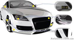 Противоугонная маркировка стекол автомобиля