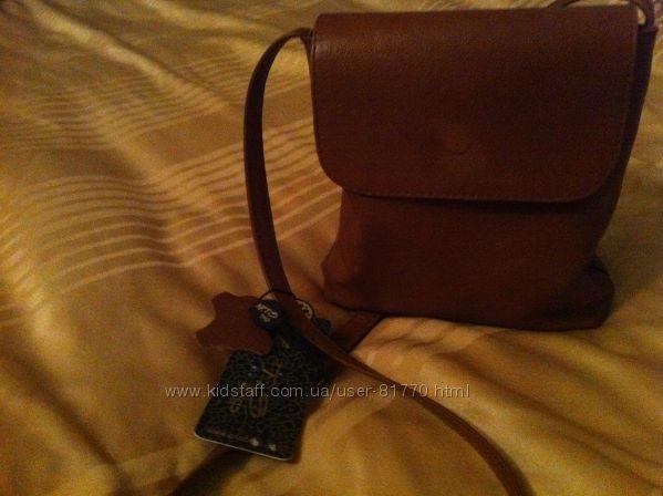 Компактная стильная сумочка через плечо