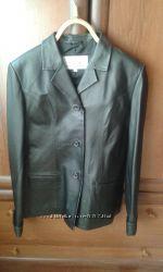 Пиджак новый кожа 48-50
