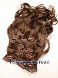 Волосы на заколках 2 комплекта новые