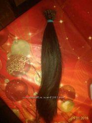 Натуральный славянский волос для наращивания. 40 см