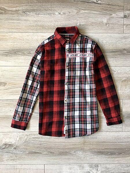 Рубашка в клетку River Island 9-10лет