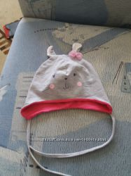 Шапка, шапочка весенняя для девочки