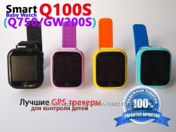 Лучшие GPS Smart Baby Watch Q100s для безопасности Вашего ребенка. Настройк