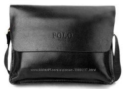 Мужская кожаная сумка Polo Videng горизонтальная 2 цвета в наличии ... c115525e7ebf0
