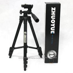 Компактный штатив для фотоаппарата Zhuoyue ZY-334 Черный 35-102 см