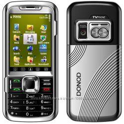 DONOD D906 - 2 sim - сенсор 2. 4 - TV - FM - Bt - Cam- металлический корпус