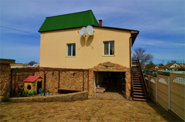 Крым Николаевка пансионат эконом недорогой отдых жилье