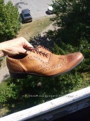 Крутые туфли от Marks & Spencer autograph. Р. UK 8, 42 27см