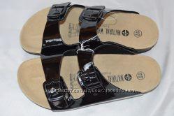 Шльопки шльопанці Esmara шкіра Німеччина розмір 40, шлепки кожа
