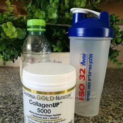 Морской Коллаген гиллаурон, витамин С 5000 California Gold Nutrition