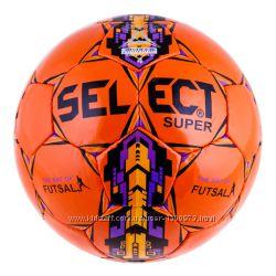 Мяч футзал Select Super Duxon OrangePurple