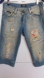Капри джинсовые.