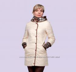 Стильная женская демисезонная курточка. Размеры 46-56