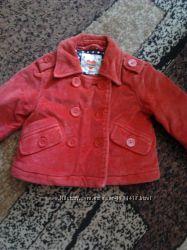 Демисезонная вельветовая куртка