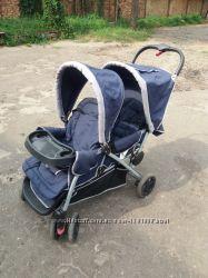 Двохмісна коляска для двох дітей різницею у 1-2 роки