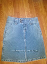 Джинсовая юбка для девочки-подростка