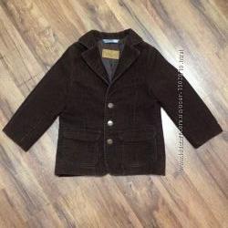 Пиджак H&M для мальчика, вельвет, р. 92-104