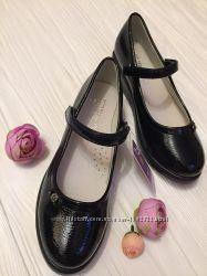 Темно синие туфельки ТОМ. М, 38разм, замеры
