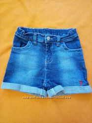 Джинсовые шорты на девочку 4-5 лет