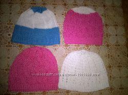 детские вязаные шапульки