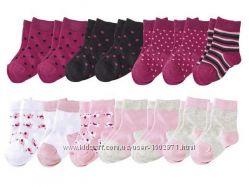Качественные носки носочки Lupilu Германия, 27-30, цена за упаковку 7 пар