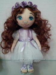 Текстильная кукла ручная работа Интерьерная игрушка Candy handmade