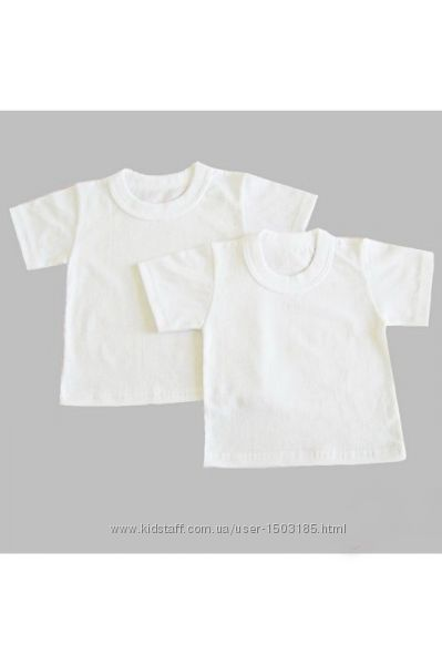 Заканчивается Белая футболка, кулир, рост 140 и 152