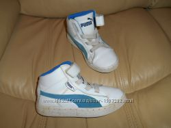 Кроссовки ботинки Puma оригинал детские кожаные, р. 31 стелька 19, 5 см