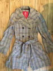 Плащ пальто Eds by Esprit 40 размер демисезонный