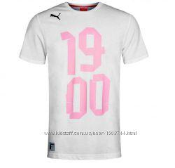 Футболка унисекс белая US Palermo от PUMA