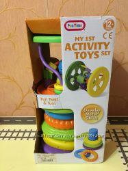 Пирамидка и колесо лабиринт My 1st activity toys Fun twist and turns